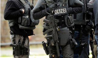 Beamte des Sondereinsatzkommandos (SEK) der Polizei. (Foto)