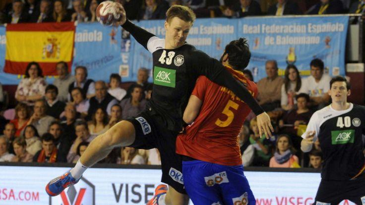 Deutschland spielte bei der Handball-EM 2016 zuerst gegen Spanien auf. (Foto)
