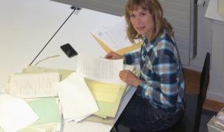 Sandra Eckardt sucht Vermisste. (Foto)