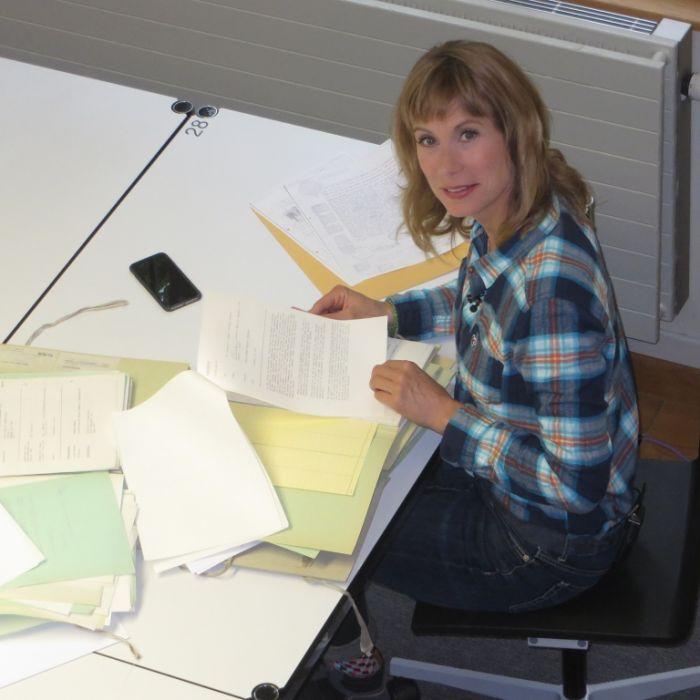 Sandra Eckardt stößt an ihre Grenzen! (Foto)