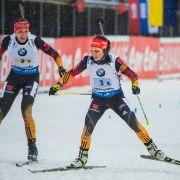 Platz zwei für die deutsche Damen-Staffel in Ruhpolding (Foto)