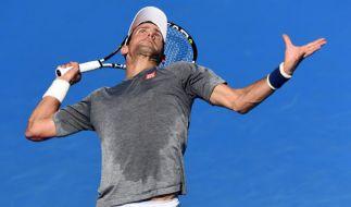 Novak Djokovic bei den Australian Open (Foto)
