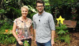 Die Moderatoren Daniel Hartwich und Sonja Zietlow berichten täglich live aus dem australischen Dschungel über das Zusammenleben der Camp-Bewohner. (Foto)