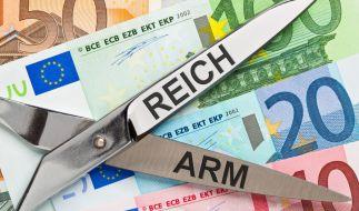 Die 62 reichsten Menschen haben nach Berechnungen von Oxfam so viel Besitz angehäuft, dass sie über genauso viel Vermögen verfügen wie die ärmere Hälfte der Weltbevölkerung. (Foto)