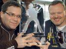 Stefan Raab und sein Ex-TV-Prakitkant Elton