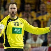 Nach Sieg gegen Slowenien - Handballer in EM-Hauptrunde (Foto)
