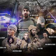 ISIS veröffentlicht alle Gesichter der Paris-Attentäter (Foto)