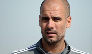 Keine leichte Aufgabe für Trainer Pep Guardiola in der letzten Saison bei den Bayern. (Foto)
