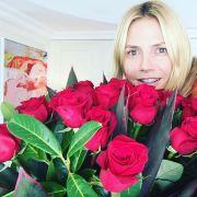 Heidi flirtete fremd und ihr Vito schenkt ihr Blumen (Foto)