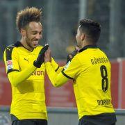 Mönchengladbach gewinnt mit 3:1 gegen Borussia Dortmund (Foto)