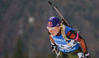 Miriam Gössner ist beim Weltcup in Antholz im Sprint der Damen Zehnte geworden. (Foto)