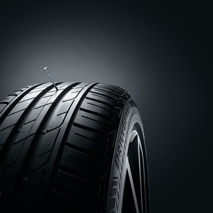 Der Reifen, der auch ohne Luft fährt (Foto)