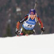 Deutsche Biathleten schaffen es in der Staffel auf das Podest (Foto)