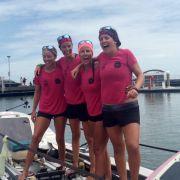 Geschafft! Frauen-Crew rudert neun Monate quer über den Pazifik (Foto)