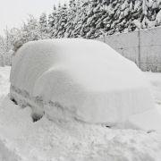 Eis-Winter auf dem Weg nach Deutschland? (Foto)