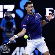Federer und Djokovic im Halbfinale der Australian Open (Foto)