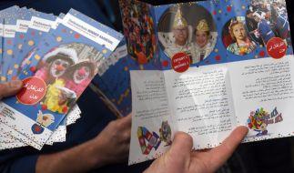 Der Handzettel soll in acht Sprachen erscheinen. (Foto)
