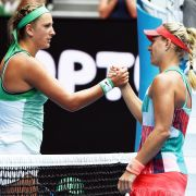Grandioser Schlag! Angelique Kerber erstmals im Halbfinale (Foto)