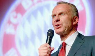 Bayern-Boss Karl Heinz Rummenigge soll sich bereits in Katar befinden, um den neuen Sponsor vorzustellen. (Foto)