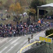 Österreicher rüsten in der Flüchtlingskrise auf (Foto)