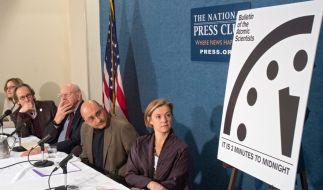 """Das US-Wirtschaftsmagazin """"Bulletin of the Atomic Acientists"""" warnt vor der selbstzerstörerischen Kraft der Menschheit. (Foto)"""