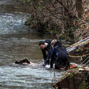4 Wochen nach Blutfund am Neckar: Polizei entdeckt Leiche einer Frau (Foto)