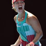 Kerber erreicht inMelbourne erstes Grand-Slam-Finale ihrer Karriere (Foto)