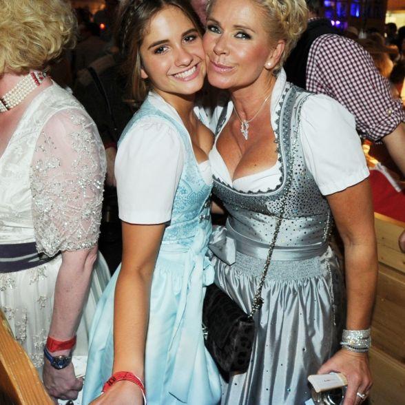 Tochter Lucia stiehlt Mutter Claudia beinahe die Show (Foto)
