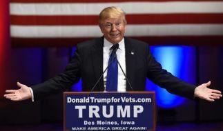 Donald Trump hat für seinen TV-Auftritt 5 Millionen Dollar gefordert. (Foto)