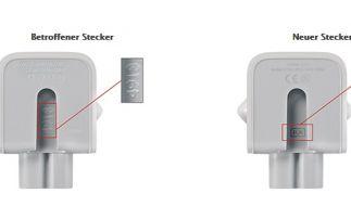 Apple ruft Netzstecker zurück. (Foto)