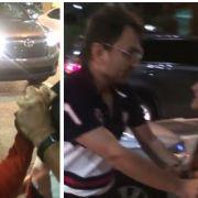 Ärztin rastet völlig aus, demoliert ein Taxi und verprügelt Fahrer! (Foto)