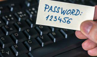 """Die Ziffernfolge """"123456"""" ist nach wie vor der Klassiker bei der Passwortwahl. (Foto)"""