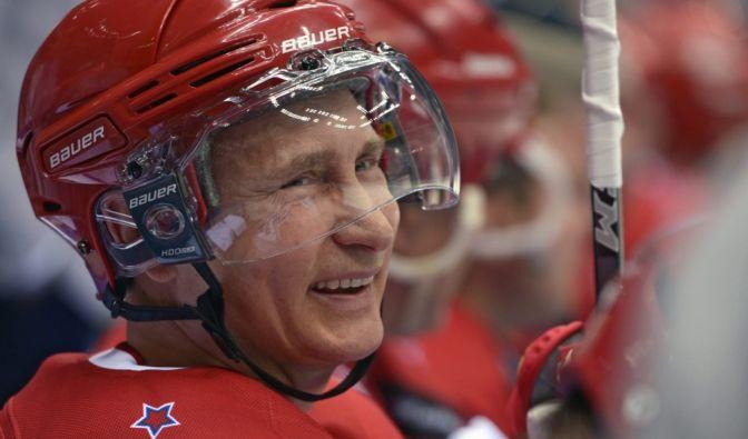 Als echter Sportsmann weiß Putin eben auch: Wer zuletzt lacht, lacht am besten.