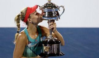 Angelique Kerber besiegte bei den Australien Open Serena Williams. (Foto)