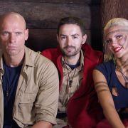 Da waren es nur noch dre: Thorsten Legat, Menderes Bagci und Sophia Wollersheim (v.l.n.r.) standen im Finale des Dschungelcamps 2016.