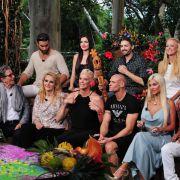 11 Dschungel-Camper feiern - aber wo war Gunter Gabriel? (Foto)