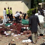 IS-Partner Boko Haram schlachtet ein ganzes Dorf ab und verbrennt Kinder (Foto)