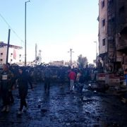 Mindestens 63 Tote bei Anschlag in Damaskus (Foto)