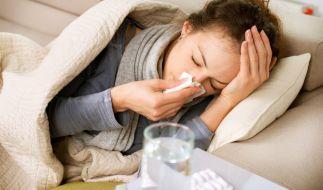 Damit es gar nicht erst so weit kommt: Ansteckungsrisiko während der Grippewelle minimieren. (Foto)