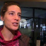 Freute sich für ihre Freundin und Team-Kollegin: Andrea Petkovic.
