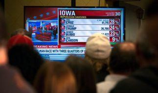 Schlappe für Donald Trump: Der Polit-Querulant konnte die erste Vorwahl im Bundesstaat Iowa nicht gewinnen. (Foto)