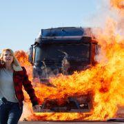 """""""Eine Frau geht durch's Feuer"""": Annette Frier kämpft auf Sat.1 um ihre Spedition (Foto)"""