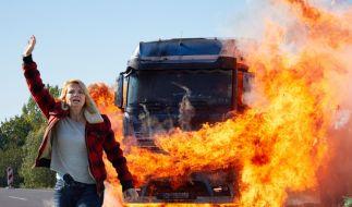 Bei Toni (Annette Frier) geht nach dem Tod ihres Mannes so einiges schief. (Foto)