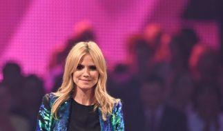 """Heidi Klum sucht """"Germany's Next Topmodel"""" und bekommt mit Kandidatin Saskia eine Topmama. (Foto)"""