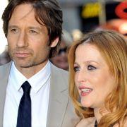 """David Duchovny und Gillian Anderson bei der US-Filmpremiere es Films """"Akte X - Jenseits der Wahrheit"""" 2008. (Foto)"""
