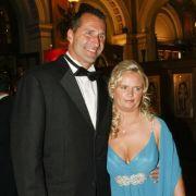 Lars Riedel und seine Frau Katja.