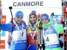 Alle Ergebnisse und Wiederholung des Biathlon Weltcups 2016 in Canmore
