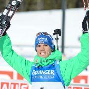 Biathlon-Überflieger Schempp über Erfolg, Essen und Sport! (Foto)