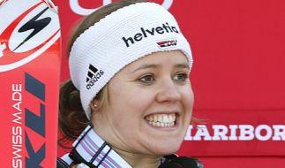 Viktoria Rebensburg will auf der heimischen Strecke punkten. (Foto)