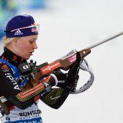 Deutsche Biathletinnen verpassen Podest (Foto)